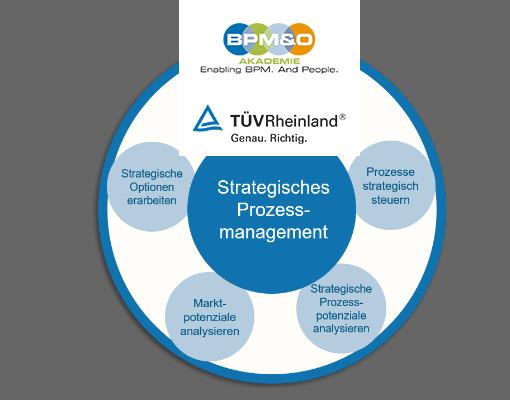 Zertifikatsprogramm Strategische/r Prozessmanager/in (TÜV)